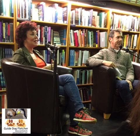 Ruby Wax and Dr Danny Penman answering questions