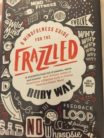Book cover of Frazzled by Ruby Wax